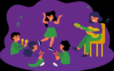 Developing life skills through creative dance, play and meditation